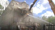 Москва: как сносят хрущевки первой волны