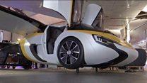 На Ле-Бурже показали летающий автомобиль