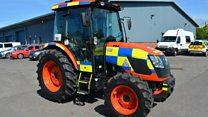 'RoboCrop' chosen as name for police tractor