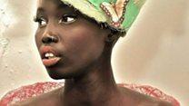 لاجئة سودانية تتحول إلى عارضة أزياء محترفة