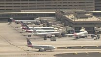 Planes grounded at 'too hot' US airport