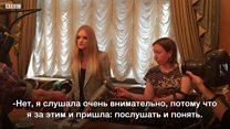 Лиза Пескова посетила первый совет блогеров в Госдуме