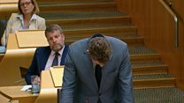 Doddie 'will call me a big Jessie' says tearful MSP