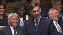 Jacob Rees-Mogg v Speaker John Bercow