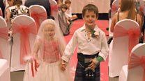 Five-year-old girl's bucket list wedding