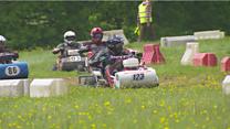 Lawnmower racing in Sussex