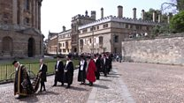 Seven honorary degrees awarded by Oxford University