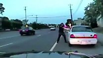Dashcam footage of Philando Castile shooting