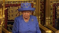 Brexit plans focus of Queen's speech