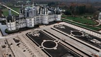 The gardens that cost 3.5m euros to create
