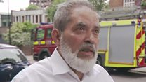 Grenfell Tower relative criticises May