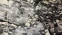 بالفيديو: لحظة تفجير جامع النوري بالموصل
