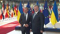 ТВ-новости: Петра Порошенко тепло приняли в ЕС