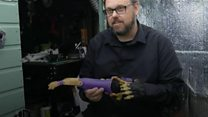 Man makes artificial limbs for free in shed