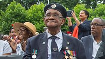 Black War Heroes memorial unveiled