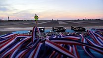 Luton Airport runway closes for runners