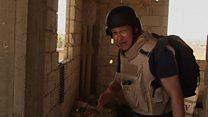 นักข่าวบีบีซีบุกแนวรบใน 'รักกา' เมืองหลวงไอเอส