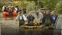 Fire service learns lessons from 2007 floods