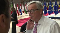 EU chief's one word response to May's plan