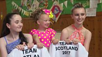Scottish dancers ready for world cup stage