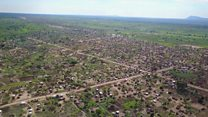 ယူဂန်ဒါက တောင်ဆူဒန် စစ်ဘေး ဒုက္ခသည်တွေရဲ့ ဒုက္ခသည်စခန်း