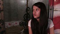 ဆိုင်ကယ်စတန့်သမား အင်ဒိုနီးရှား မိန်းကလေး