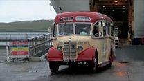 Vintage bus completes Shetland journey