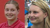 Queen's ball girl returns 20 years on