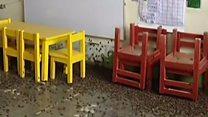 Invasão de grilos suspende aulas e impede moradores de dormir no Peru