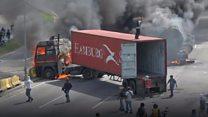 Protester death sparks Venezuela riots