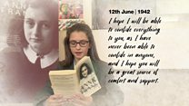 Reading Anne Frank's Diaries