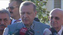 اردوغان يتعرض للإغماء خلال صلاة العيد.. ما السبب؟