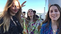 Haim 'put every ounce of love' into Glastonbury