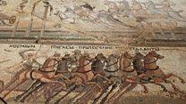 Cyprus reveals rare Roman horse mosaic