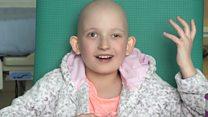 เด็กหญิงป่วยเป็นมะเร็งได้รับการรักษาด้วยโปรตอน