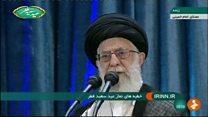 آیت الله خامنهای: آتش به اختیار به معنای بی قانونی و فحاشی نیست