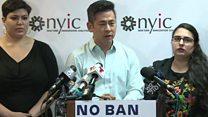 'Unjust and discriminatory Muslim ban'