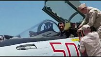 الاسد يزور قاعدة عسكرية روسية