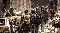 همراه با نیروهای عراقی در آخرین میدانهای جنگ موصل