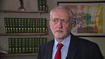 Corbyn: Reverse emergency services cuts