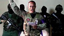 """""""Somos guerreros de Dios"""", el manifiesto que Óscar Pérez difundió antes del ataque del helicóptero del CICPC en Venezuela"""