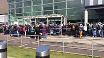 Queues follow Edinburgh Airport power cut