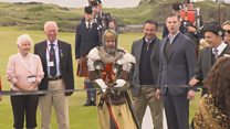 Robert the Bruce course opens at Trump Turnberry
