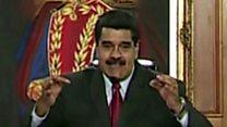"""Nicolás Maduro, presidente de Venezuela: """"Vamos a capturar el helicóptero y a los que han hecho este ataque terrorista armado"""""""
