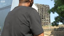 Grenfell Tower resident returns two weeks after fatal fire