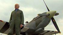 95-летний ас Люфтваффе полетал на Спитфайре