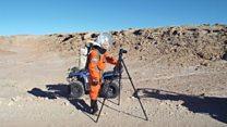Россиянка, которая готовится к полету на Марс