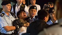 Hong Kong democracy protesters arrested
