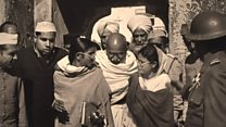 How Gandhi's last day was photographed