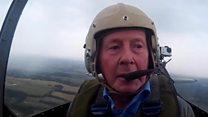 Німецький ас у свої 95 років полетів на Спітфайрі